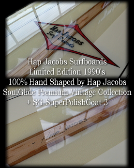Hap Jacobs Surfboards Premium Vintage Collection 1990's �y�������܂����z