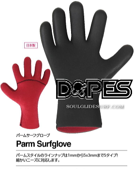 DOPES SURF GLOVE PALM 3mm �y���s�z