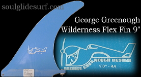 George Greenough Wilderness Flex fin 9.0