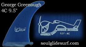 George Greenough Flex fin  STAGE-4 9.5