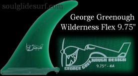 George Greenough Wilderness Flex fin 9.75