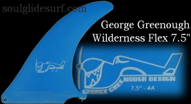 George Greenough Wilderness Flex fin 7.5
