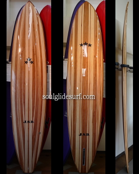 J.S.D. WOOD SURFBOARD CLASSIC LONG MODEL �I�[�_�[���C�h��t��