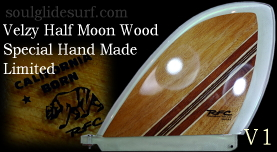 Velzy Half Moon Exotic Wood Collection by Glen V1