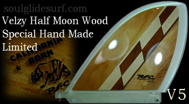 Velzy Half Moon Exotic Wood Collection by Glen V5