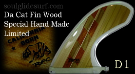 Da Cat Fin Exotic Wood Collection by Glen D1【完売】