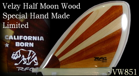 Velzy Half Moon Exotic Wood Collection by Glen VW85A