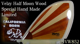 Velzy Half Moon Exotic Wood Collection by Glen VW85B