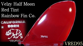 Velzy Half Moon Red Tint VRED95 【受注生産】