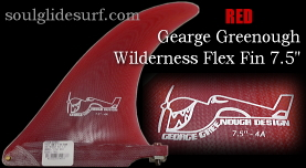 George Greenough Wilderness Flex 4A fin 7.5