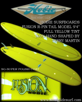�����O�{�[�h HOBIE FUSION R-PIN TAIL MODEL 9'4