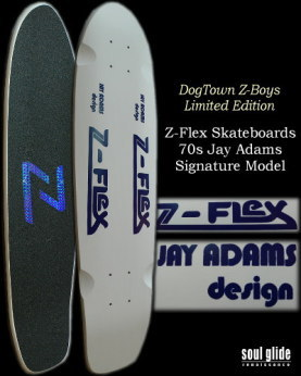 【完売】 Z-FLEX '70s JAY ADAMS MODEL WHITE