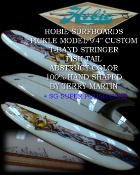 �����O�{�[�h HOBIE PICKLE MODEL 9'4