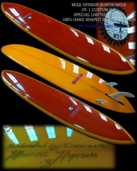 MIKE HYNSON HY-1 CUSTOM 9'2