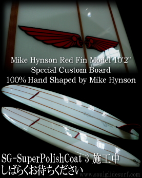Mike Hynson Red Fin 10'2