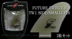 FUTURE TWINZER TW1 の SIDE(SMALL) FINのみの2枚セット【要在庫確認】